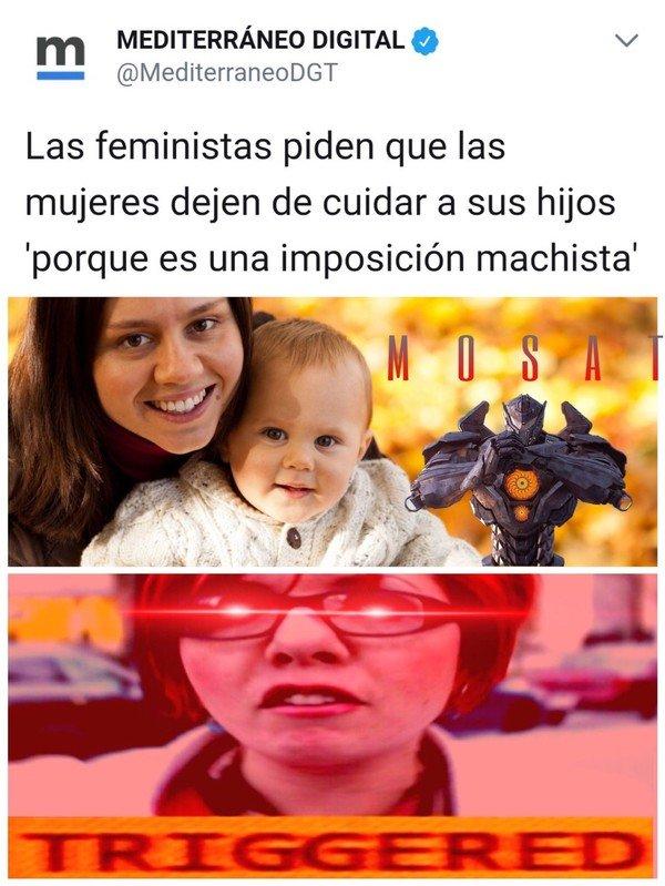Otros - Feministas y cuidar a sus hijos