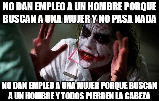Joker - ¡Igualdad a tope!
