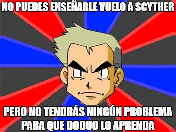 Profesor_oak - Vuelo