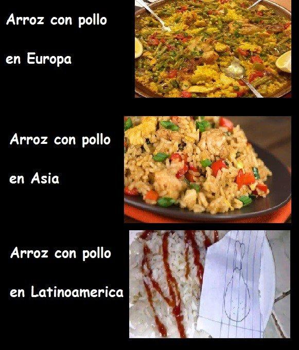 Otros - Diferencias culinarias alrededor del mundo