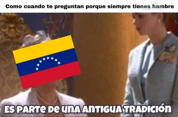 Meme_otros - Tradición Venezolana