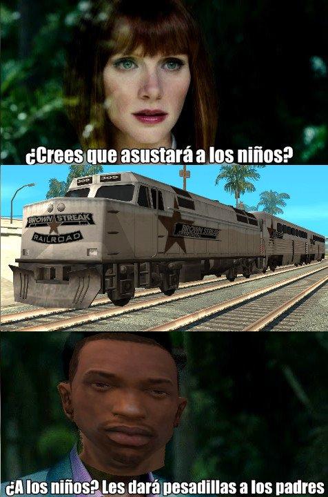 La_cara_que_pones_cuando - El maldito tren