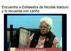 Enlace a La maestra de Nicolás Maduro