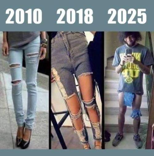 Meme_otros - La moda con el paso de los años se nos está yendo de las manos