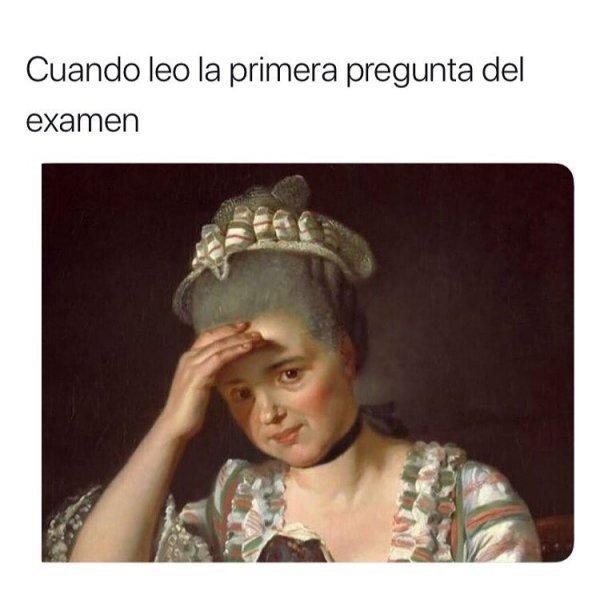 Meme_otros - Yo en un examen