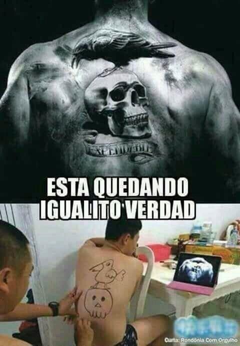 Meme_otros - Un tatuador a otro nivel