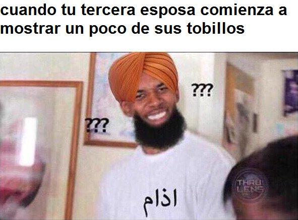 La_cara_que_pones_cuando - Musulmán confundido