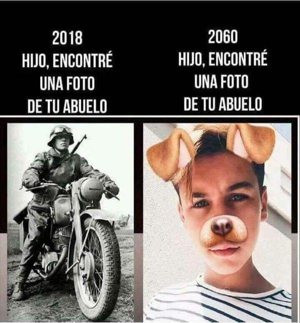 Meme_otros - Los tiempos han cambiado demasiado