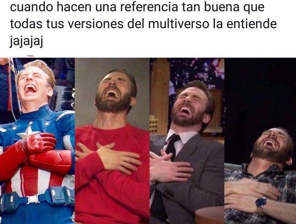 Meme_otros - Capitan América entiende la referencia