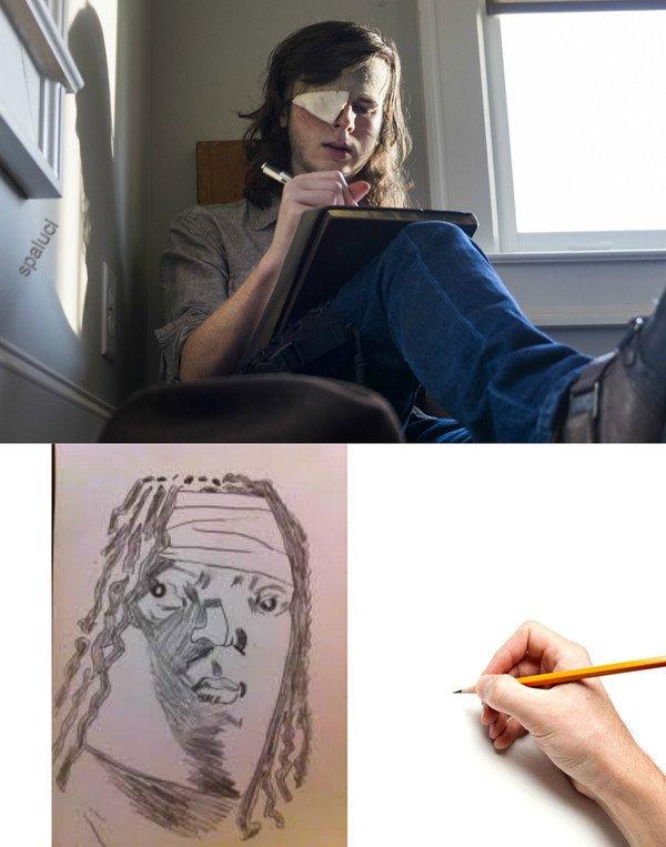 Lol - El dibujo de Carl