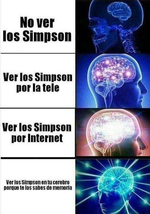 Meme_otros - La magia de Los Simpson