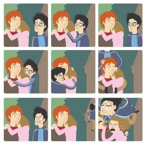 Kidding_me - El aguantavelas Jarri Poter