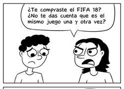 Enlace a El FIFA no es el único juego que se repite