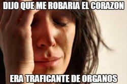 Enlace a El traficante de órganos