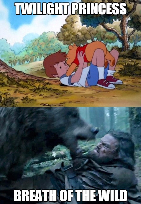 Bear_leo - La dificultad de los Zelda