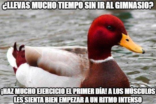 Pato_mal_consejero - ¡No le escuches!
