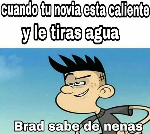 Meme_otros - Brad sabe controlar el tema