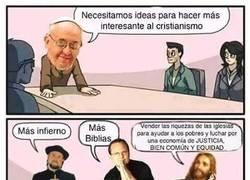 Enlace a Hay ideas que no gustan en el cristianismo