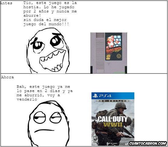 True_story - Gamers de ahora