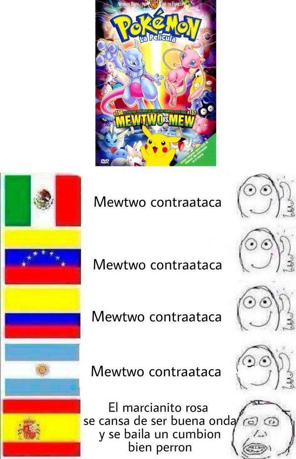Meme_otros - El título de la película de Pokémon en diferentes países
