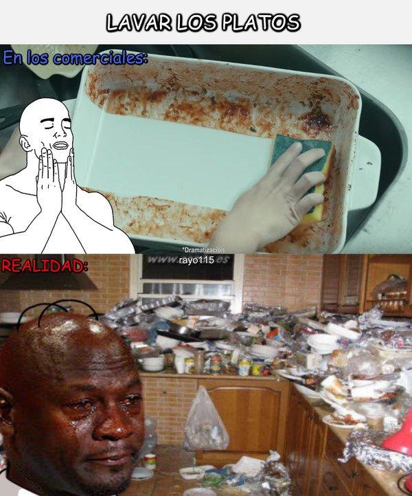 Me_gusta - Lavar los platos