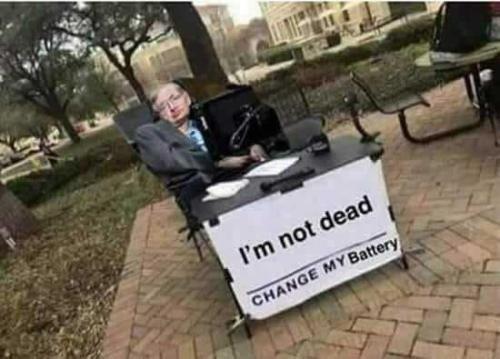 Meme_otros - Stephen Hawking tiene un mensaje