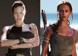 Enlace a Dos grandes diferencias a destacar entre otras de estas dos Lara Croft del cine