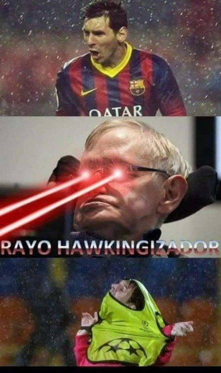 Meme_otros - Messi se debilitó