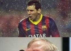 Enlace a Messi se debilitó