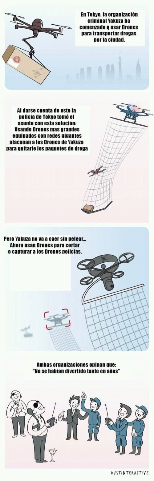 Otros - El uso de drones en las organizaciones criminales de Japón