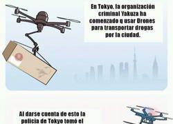 Enlace a El uso de drones en las organizaciones criminales de Japón