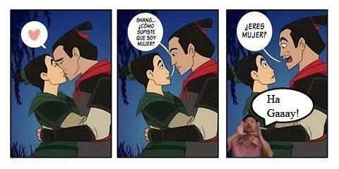 Otros - Todos sabíamos que Li Shang era un poquito gay