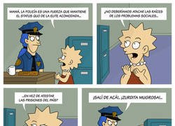 Enlace a Lisa en contra de la policía