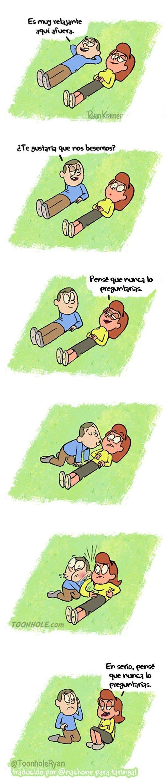 Otros - Un mal entendido al besar a una chica