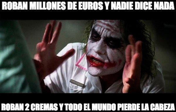 Joker - La lógica y Cristina Cifuentes