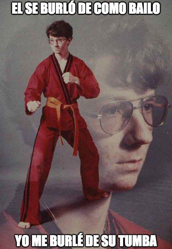 Karate_kyle - Nunca te burles de nadie por nada