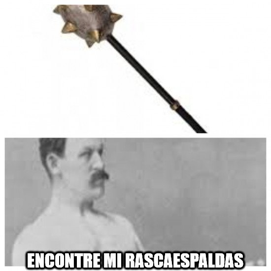 Overly_manly_man - Solamente apto para él