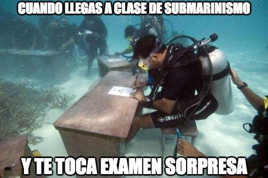 Meme_otros - Un examen bajo presión