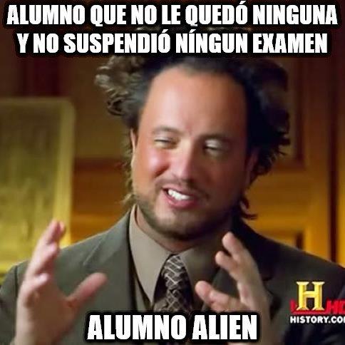 Ancient_aliens - El típico alumno