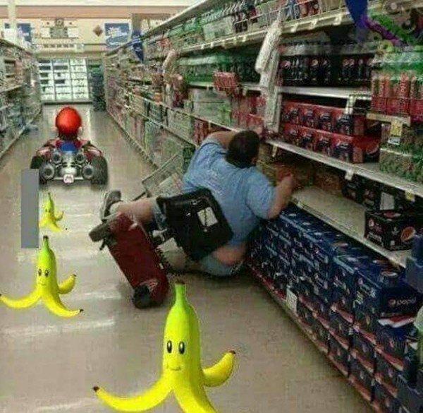 Otros - Accidente en el supermercado