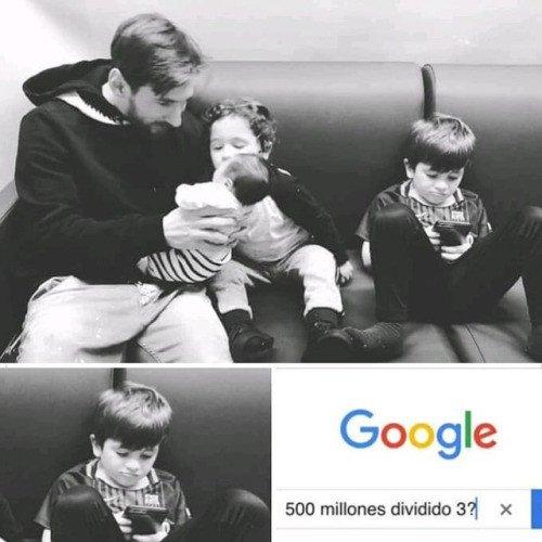 Meme_otros - La preocupación de Thiago Messi