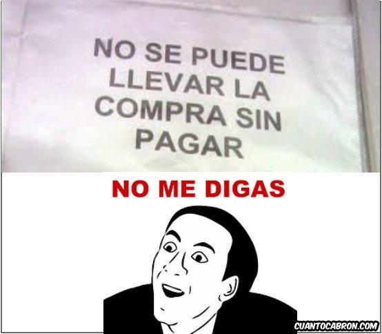 No_me_digas - Tienda obvia