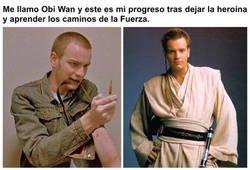 Enlace a Los grandes progresos de Obi Wan