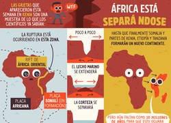 Enlace a África está separándose