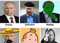 Enlace a Distintos tipos de Putin en la vida