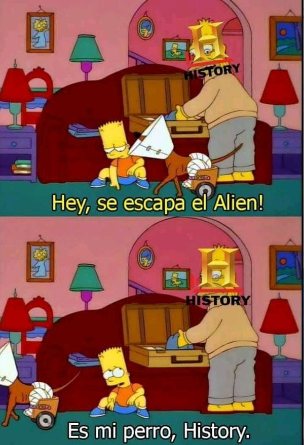 Meme_otros - Historia siempre con sus tonterías