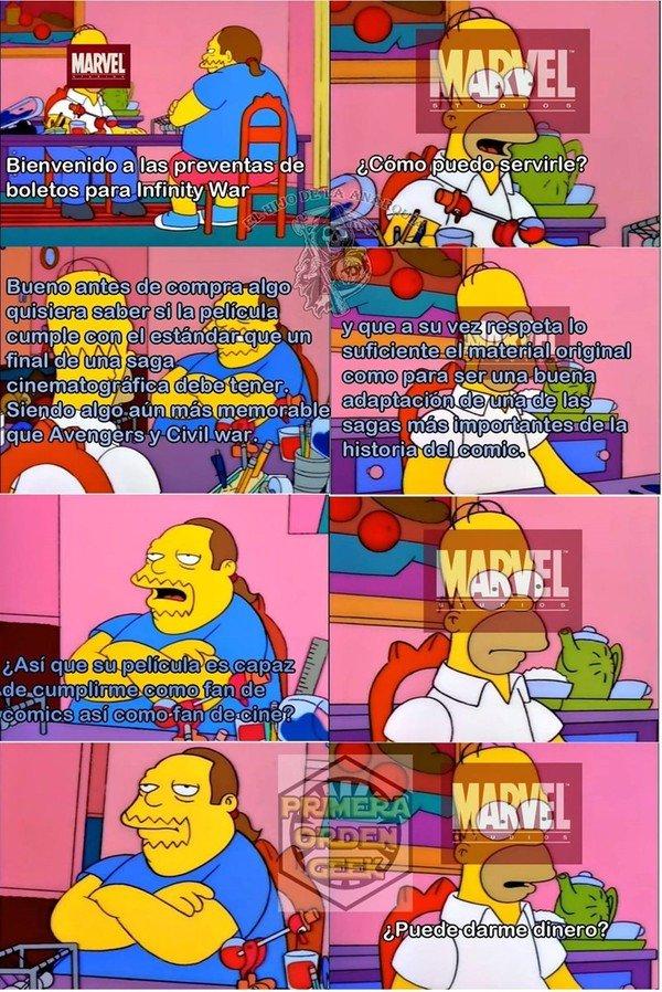 Otros - Requisitos antes de ver una peli de Marvel