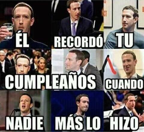 gracias,mark zuckerberg
