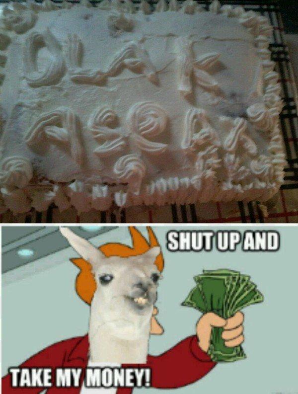 Meme_otros - ¡Yo decoré ese pastel!