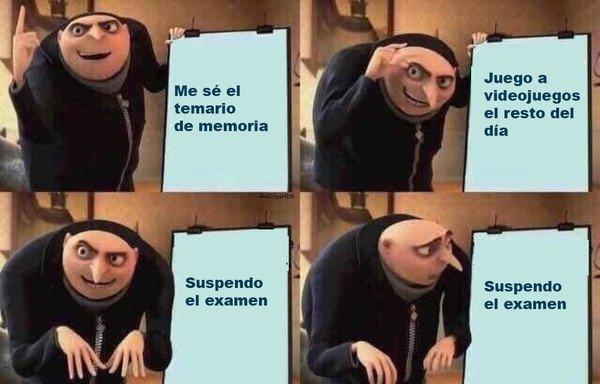 Meme_otros - Rutina estudiantil promedio